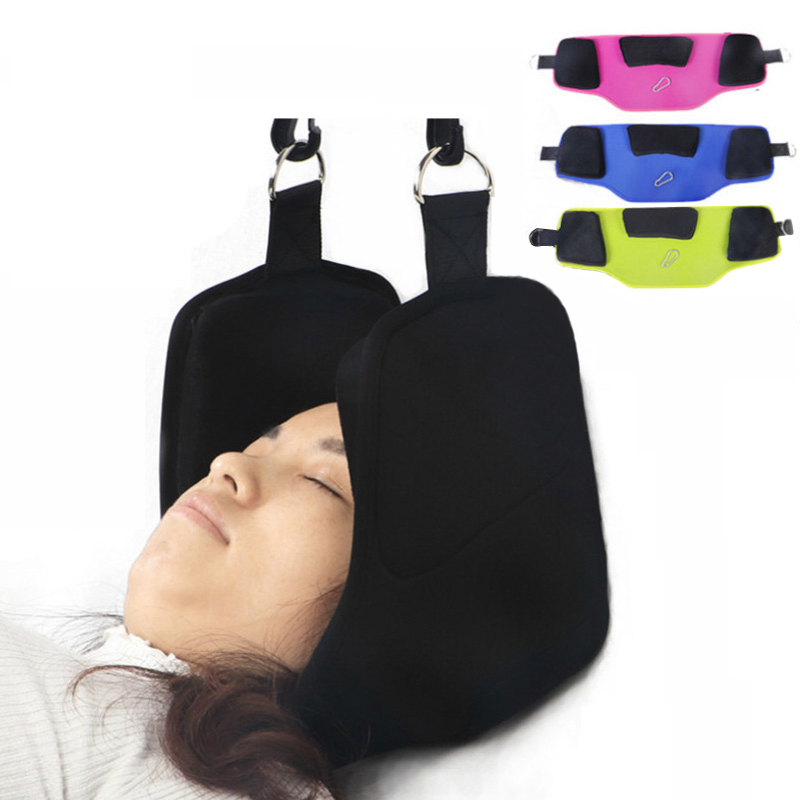 New Neck Hammock Portable Head Hammock Traction Device Neck Pain Relief Hammock Massager Nap Pillow Neck Posture AlignmentNew Neck Hammock Portable Head Hammock Traction Device Neck Pain Relief Hammock Massager Nap Pillow Neck Posture Alignment