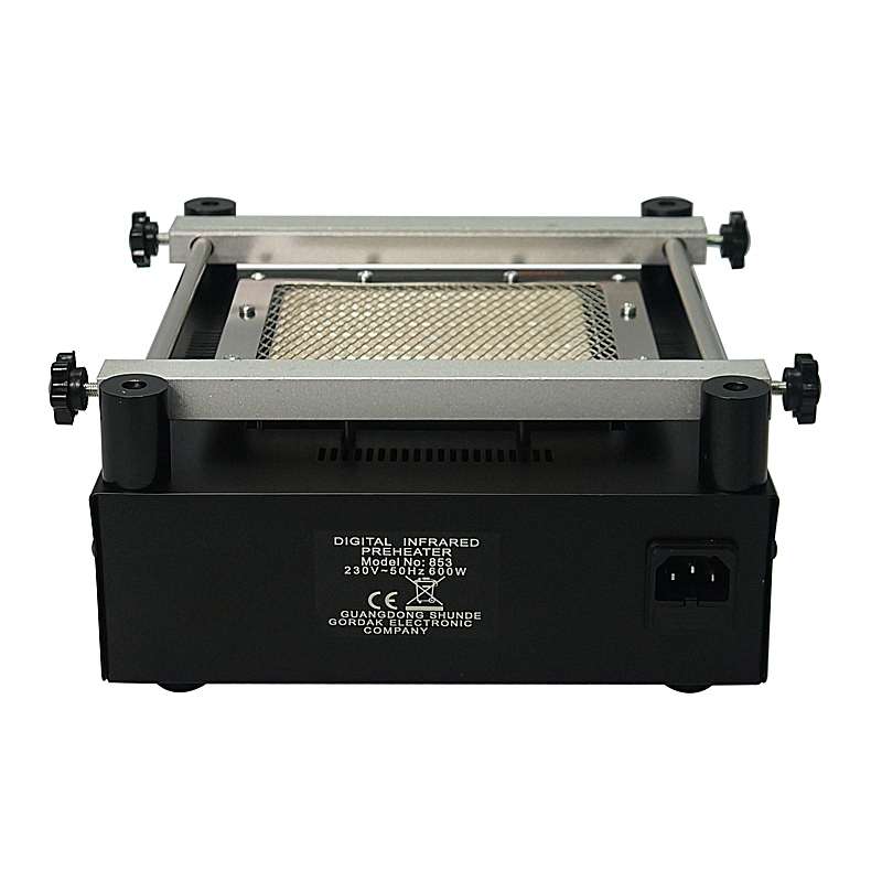 605W GORDAK 853 IR lead free preheater preheating station with 12x12cm heating area for PCB bga rework repair desolder solder