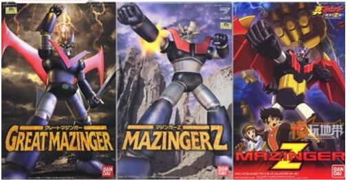 GREAT MAZINGER Z GETTER figure toy MECHANIC pvc assembly model kit-in Action & Toy Figures from Toys & Hobbies    1