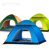 2018 New Portable single Layer outdoor tent 2 seconds open 3 4 full automatic rainproof tent camping