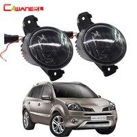 Cawanerl 2 Parça Araba Aksesuarları Için LED Sis Işık DRL Gündüz Lambası Beyaz 2008-2015 Renault Koleos (HY _)