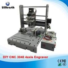 Russia tax free PCB Milling Machine CNC 3040 DIY CNC Wood Carving Mini Engraving Machine