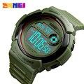 SKMEI Marke Männer Sport Uhren Mode Chronos Countdown männer Wasserdichte LED Digital Uhr Military Uhr Mann Relogio Masculino-in Digitale Uhren aus Uhren bei