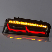 цена на Car Styling Led Taillight For Chevrolet Camaro 2015-2017 6th Tail light Smoke Lens Rear Lamp