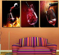 Handicraft Needlework DIY Diamond Painting Cross Stitch Red Wine Diamond Embroidery Wine Glass Round Rhinestone Mosaic