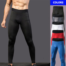Brand Running Tight Pants for Men Baselayer Compression Spor