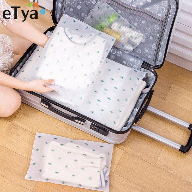 Etya Women Travel Pvc Cosmetic Bags Transparent Zipper Makeup Bags Organizer Beauty Toiletry Bag Bath Wash Make Up Case Sale