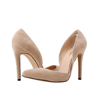 Classic Sexy Patent Two Pieces Velvet High Heels Women Pumps Shoes Spring Brand Design Wedding Shoes
