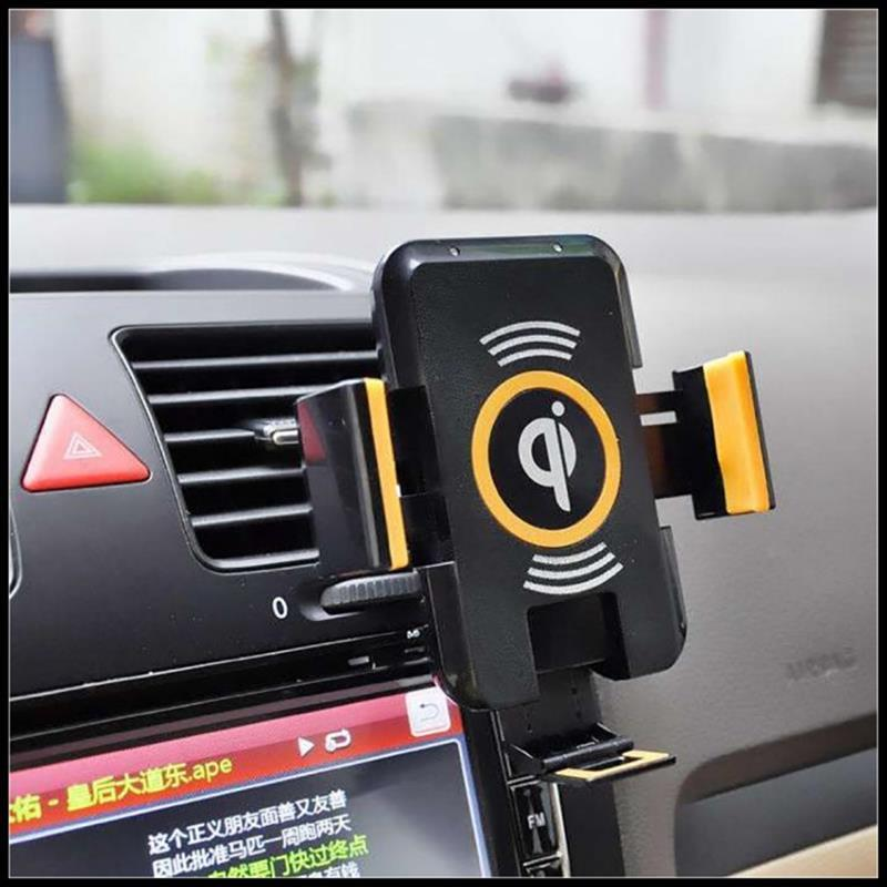 Qi voiture chargeur sans fil pour Samsung S7 S6 Edge Plus étuis voiture chargeur sans fil chargeur de charge pour Galaxy Note 5 Note5 Yotaphone 2