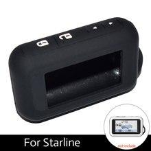 Atobabi 5 цветов E60 силиконовый чехол для Starline Двухстороннее автосигнализации E63 E60 E93 E95 ЖК-дисплей пульт дистанционного управления брелок передатчик