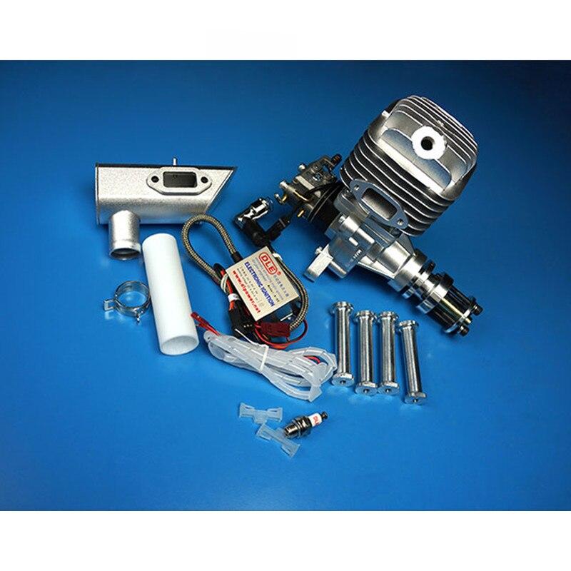 Dle 55 55ccオリジナルガスエンジン用のrc飛行機モデル熱い販売、dle、DLE55CC、DLE 55CC  グループ上の おもちゃ & ホビー からの パーツ & アクセサリー の中 1