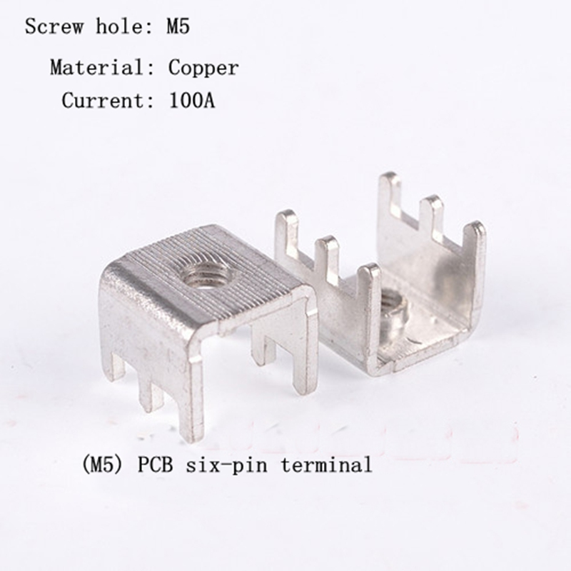 High Quality Pcb Board Solder Terminals Tinned Copper Circuit Board Terminal Block Connector m4 20pcs Free Shipping Pcb-2