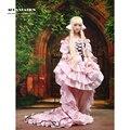 2016 Elegant Pink Vivid Chii Chic Chobits Cosplay Costume