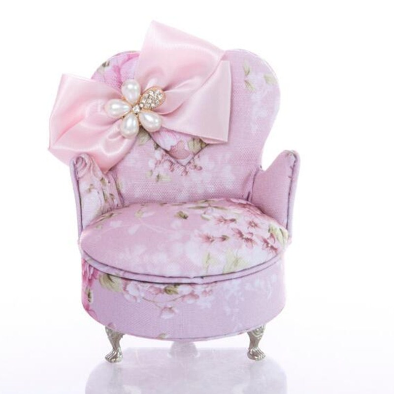 BEIOUFENG Miniature Dollhouse Furniture for Dolls,Fashion Jewelry Box Miniature BJD Sofa Doll Chair for Dolls Accessories hot selling 1 6 scale dolls plastic great demon chair dollhouse miniature furniture doll accessories