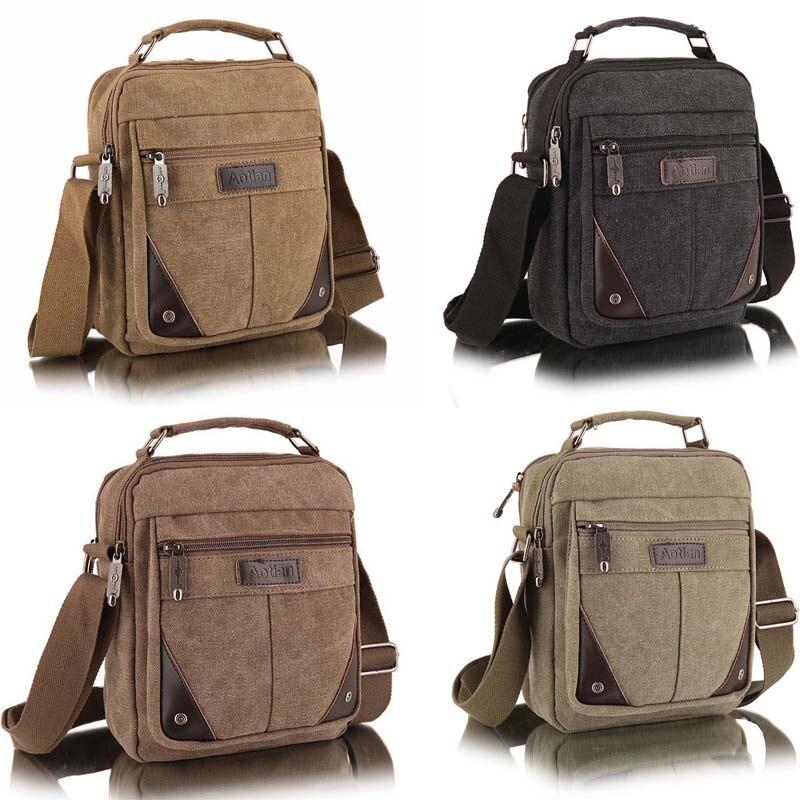 e94a6bd3b New Canvas Messenger Casual Vertical Men Bag Business Small Shoulder  Messenger Bags on Aliexpress.com   Alibaba Group