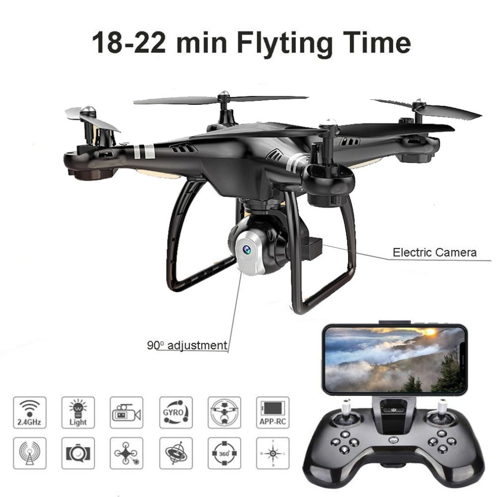 Zangão RC com Câmera HD 3MP X8 Altitude Espera Um Retorno/Pouso/Take Off Modo Headless 2.4g RC Quadcopter Drone Dropshipping