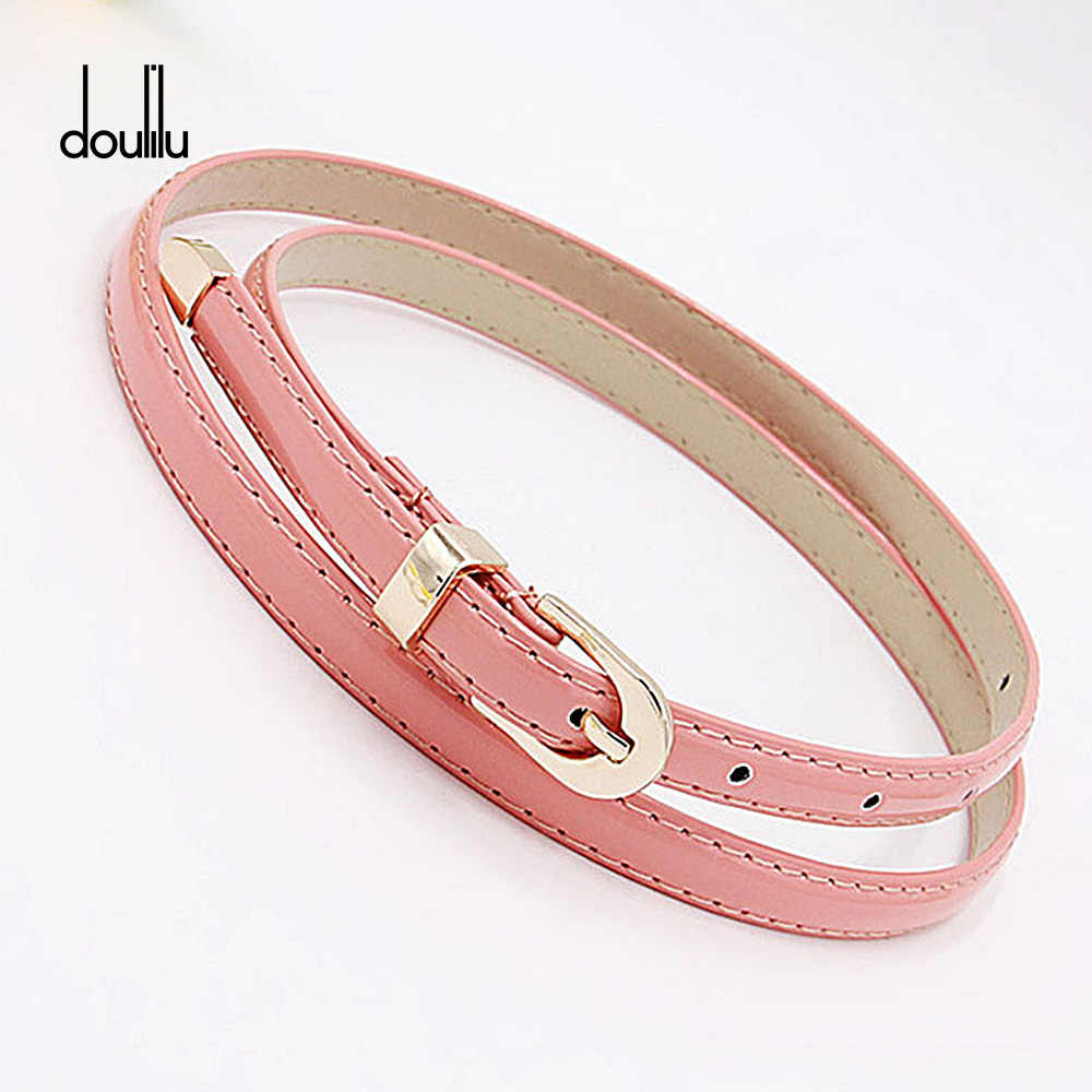 PU Leather Belt WOMAIL Delicate belts women belts Ladis retro vintage Woman Girl Candy Colours Strap Waistband For Dress