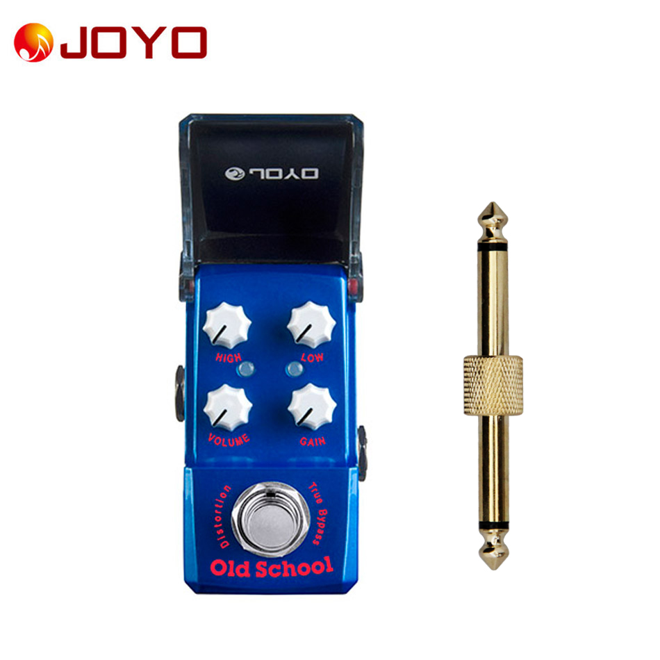 NEW Guitar effect pedal JOYO Old School Ironman series mini pedal JF-313 + 1 pc pedal connector