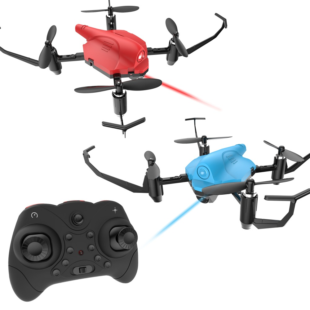 EU USA Stock Holy Stone HS177 Dron Battle RC Helicopter RTF Quadcopter Altitude Hold 3D Flip