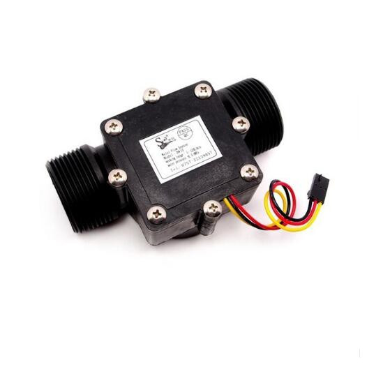 G5 4 Water Flow Sensor DC 5V 24V Max 15mA Flow Rate 0 120L min Operating