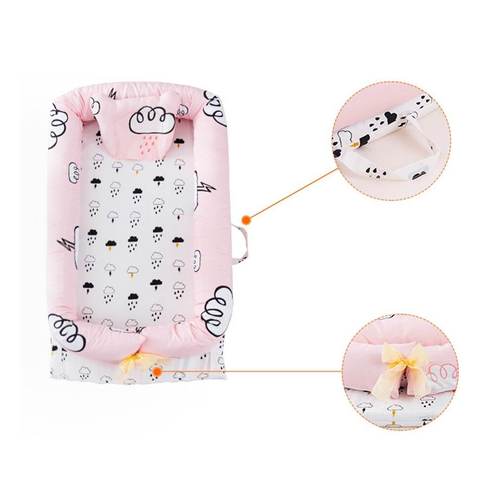 90*50*15 cm haute qualité bébé lit Portable pliable bébé berceau nouveau-né sommeil lit voyage lit pour bébé enfants filles garçons cadeau - 3