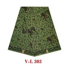 Отличная дизайнерская парафинированная ткань с кружевом восковая печать на ткани батик настоящий голландский настоящий воск хлопок V-L 303