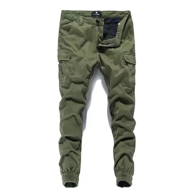 2019 Fashion Streetwear Men's Jeans Casual Cargo Pants Big Pocket Brand Designer Hip Hop Joggers Pants Men Leisure Harem Pants