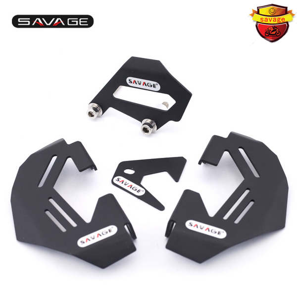 For BMW R1200GS LC/Adv 13-16, R1200R R1200RS 15-16 Motorcycle Aluminum Front & Rear Brake Caliper Cover Guard for bmw r1200gs lc adv 13 16 r1200r r1200rs 2015 2016 motorcycle aluminum front