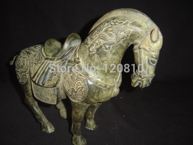 HORSE BRONZE STATUE Qing Dynasty