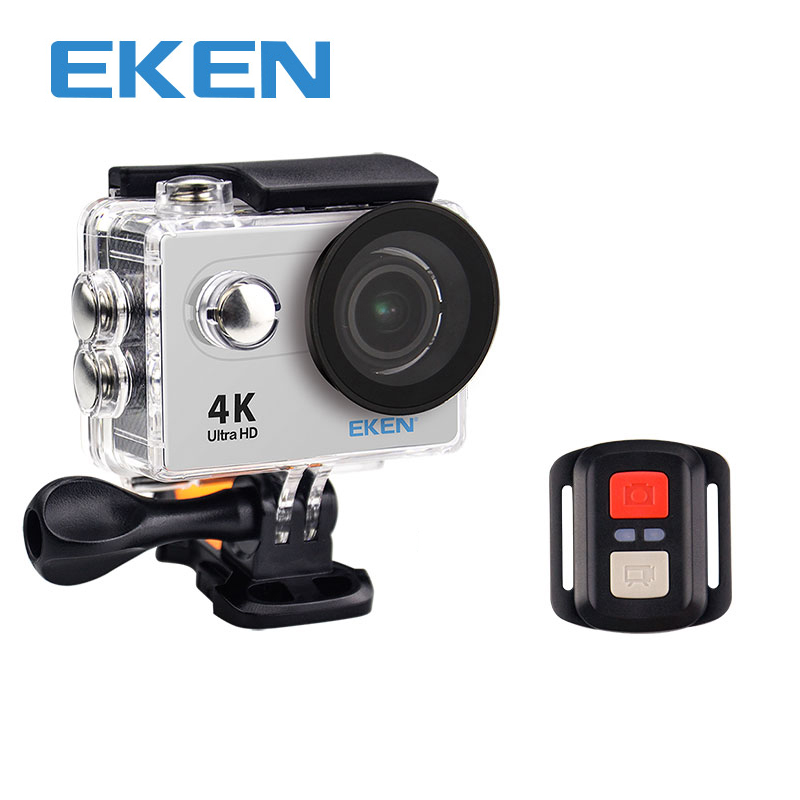 EKEN Original Ultra HD 4 K 25FPS Wifi acción Cámara 30 m impermeable h9rse 1080 p submarino ir casco extrema favorable leva del deporte