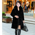 New Imitation Fur Coat Lady Lamb Thickening In The Long Winter Warm Cashmere Fur Collar Faux Fur Coat Winter Jacket Women Fur