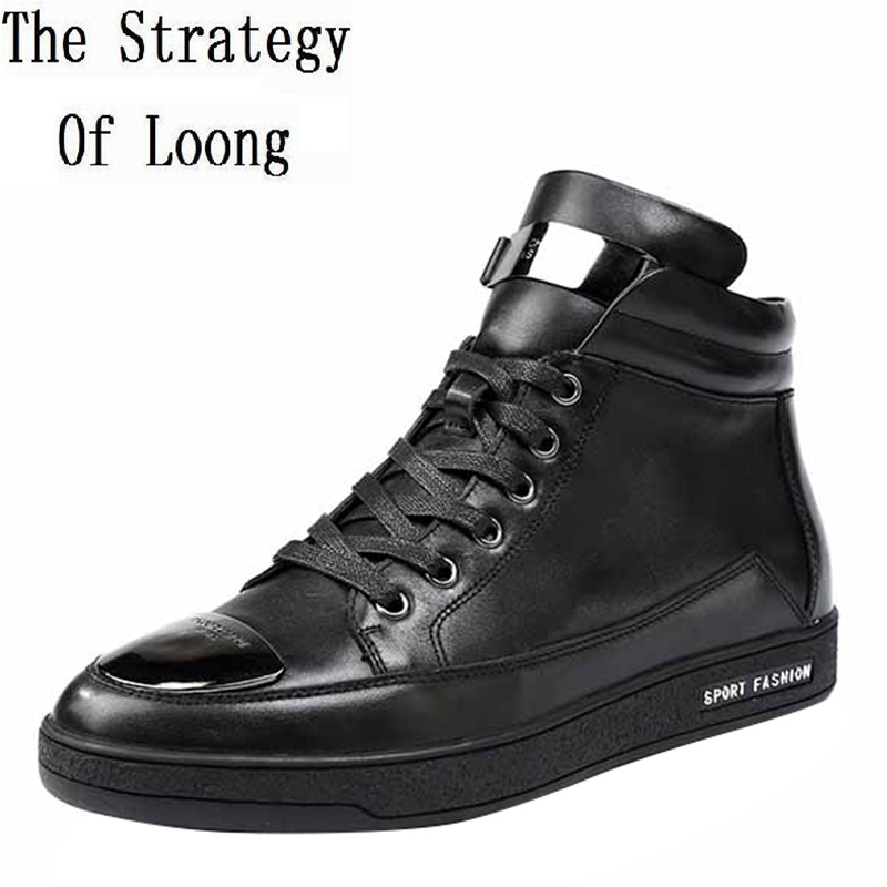 Men Spring Autumn Full Grain Leather Ankle Boots Lace Up Fashion Casual Real Leather Men Boots 20170107 men spring autumn full grain leather ankle boots lace up fashion casual real leather men boots 20170107