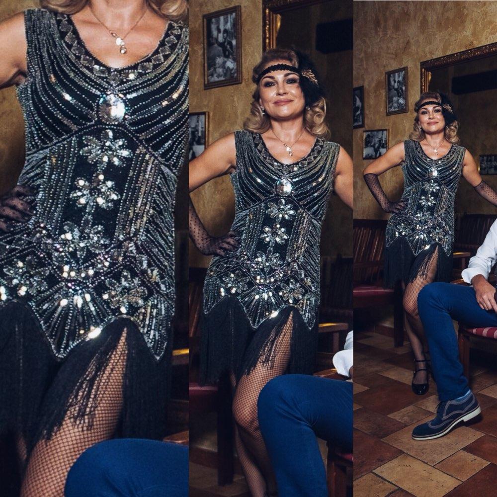 Fein Das Große Gatsby Partykleid Zeitgenössisch - Brautkleider Ideen ...
