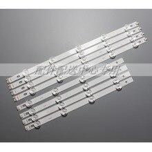 """X tira de LED para iluminación trasera para LG 39 """"TV LG 39LN5100 INN0TEK POLA2.0 39 39LN5300 39LA620S POLA 2,0 39LN5400 HC390DUN VCFP1, 8 Uds."""