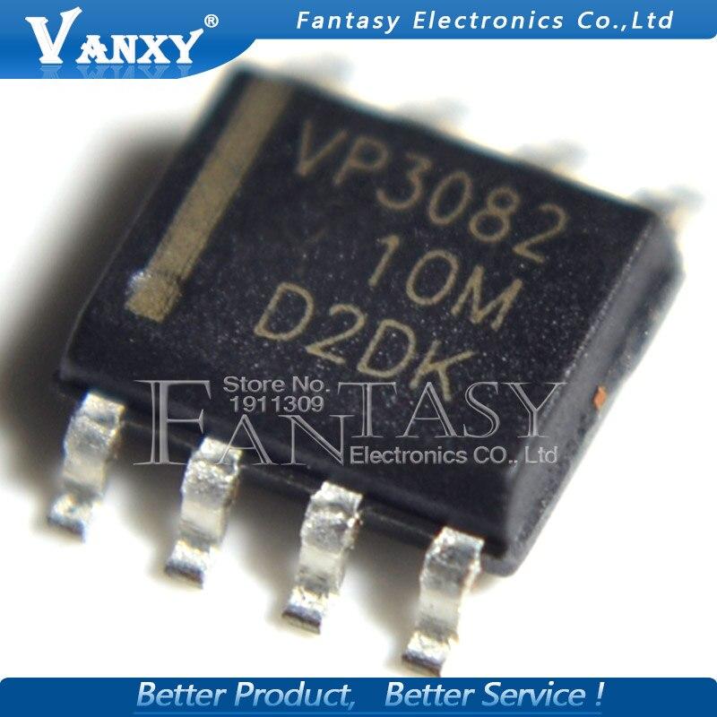 100PCS New VP3082 SN65HVD3082EDR SOP-8