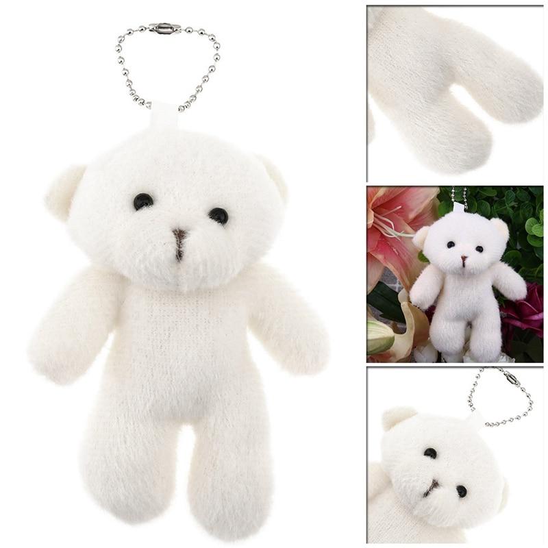 14cm Baby Soft Plush DIY Bear Dolls Christmas Gifts Bear Dolls Toys For Children
