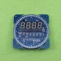 DIY Электронный комплект 51 mcu электронные часы вращающийся зеленый светодиодный цифровой трубки stc89c52 DS1302 часы температура