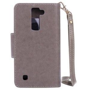 Чехол для LG K7 K8 K10 Nexus 5X X Power Flip из искусственной кожи с отделением для карт и милым держателем для девочек, зеркальный мягкий чехол для телефо...
