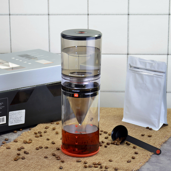 Household water drip cold coffee maker X5 Cold brew coffee machine Dutch coffee dripper 500mlcoffee/tea glass pot cold tea фото