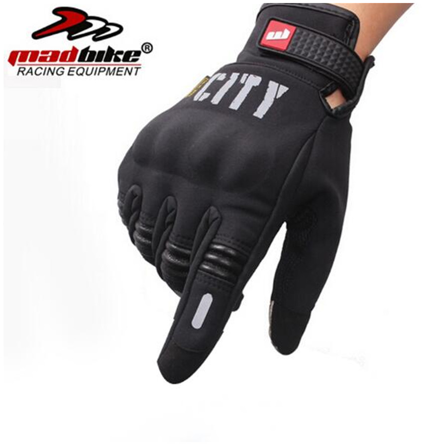 Motorcycle gloves discount - Madbike Motorcycle Gloves Racing Moto Motocross Motorbike Gloves Touch Screen Gloves M Xxl China