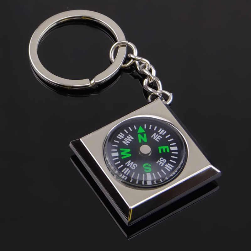 البوصلة سيارة مفتاح قلادة عصابة اكسسوارات السيارات للدراجات النارية لسيارات BMW E60 هوندا سيفيك 2006-2011 سوزوكي Sx4 مازدا 3 مفتاح سلسلة حامل