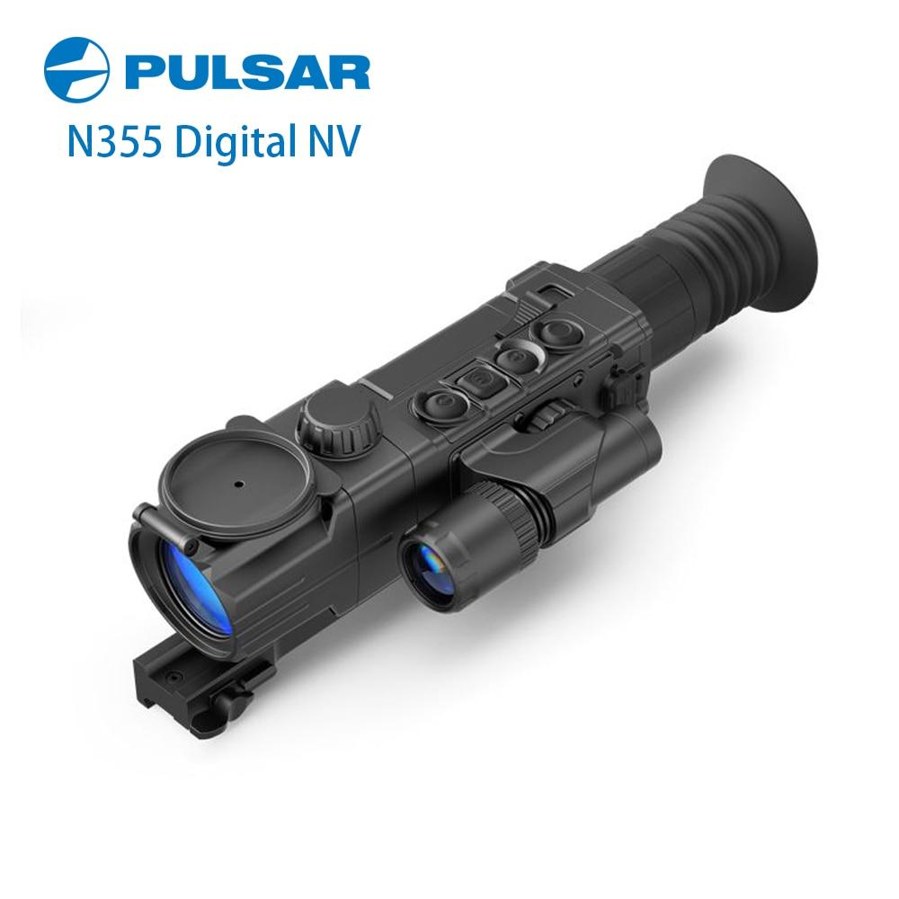 Пульсар Digisight Ультра N355 цифровой ночного видения прицел встроенный видео рекордер ИК осветитель охотничий прицел #76370