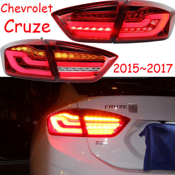 Video Car tail lights for taillight Chevrolet Cruze 2015~2017/2009~2013LED Cruze Tail Light Rear Lamp DRL+Brake+Park+Turning