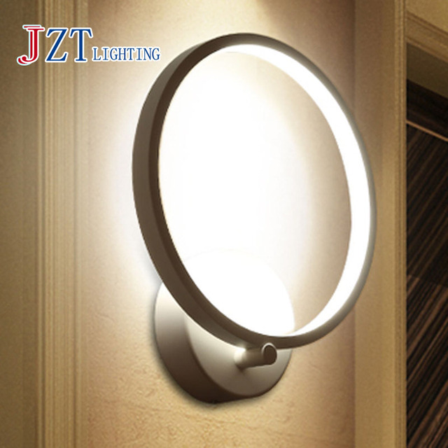 z beste prijs moderne mode cosy led wandlamp circulaire lamp gang