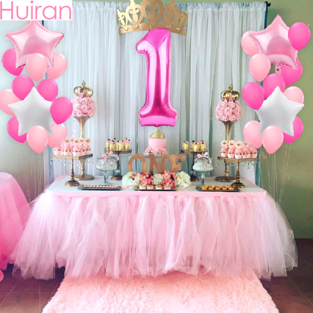 number 25 first birthday theme