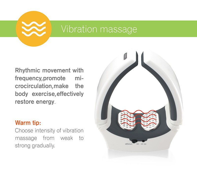 KIKI Beauty World.Wireless Remote Control Neck massager health care product Cervical therapy instrument massage tools 8