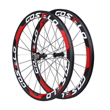 2017 Carbon wheels Road Bike Wheelset 50mm Carbon Wheels 25mm-Clincher tubular tubuless free shipping
