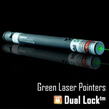 Big sale SKYLasers 532nm 5mw High Quality Green Laser Pointer Pen with Dual Lock