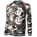 Camouflage Hoodie Sweatshirt Fashion Swag Rock Hoody Jacket Printed 2016 New Slim Fit Single Breasted Cardigan Coat Male Clothes