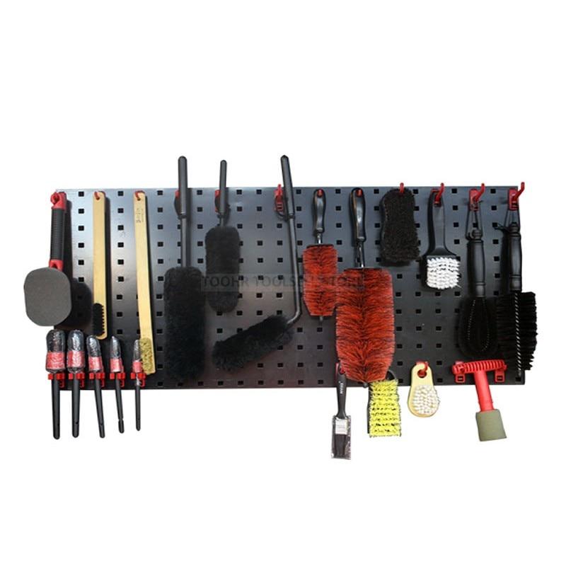 Steel Wall-Mounted Tool Parts Storage Box Garage Unit Shelving 9